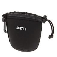 Protective Neoprene Bag Case for DSLR Camera Lens - Black (Size S)