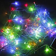 ieftine -200-a condus 20m de decorare de vacanță RGB lumina a condus lumina șir