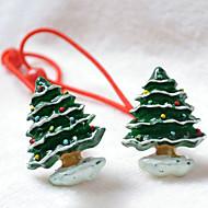 お買い得  -犬用品 - すべての季節 - クリスマス 用- 混合材 - ヘア飾り - グリーン