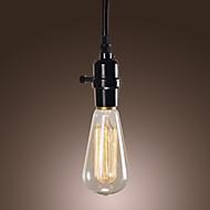 40W tradisjonell / klassisk / vintage mini stil / pære inkludert anheng lys spisestue / kontor