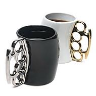 billige Hjem & Kontor Gadgets-ny stil kreative keramiske knytnæve cup krus farve sendt tilfældigt