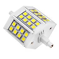 5W R7S LED-kohdevalaisimet 24 SMD 5050 440 lm Kylmä valkoinen AC 85-265 V