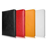 abordables Liquidación-Funda Para Apple con Soporte Funda de Cuerpo Entero Color sólido piel genuina para iPad Air