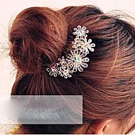 رخيصةأون -مشط الشعر نسائي - وردة كريستال / سبيكة, أنيق / أمشاط للشعر / أمشاط للشعر