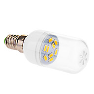 E14 LEDボール型電球 9 LEDの SMD 5630 温白色 290lm 2500-3500K 交流220から240V