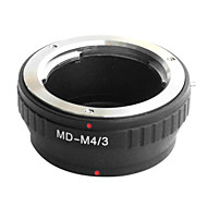 EMOLUX Minolta MD MC objektiv na Micro 4/3 adaptér E-P1 E-P2 E-P3 G1 GF1 GH1 G2 GF2 GH2 G3 GF3