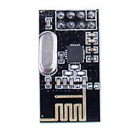 halpa Arduino-tarvikkeet-2.4GHz Antenna Langaton NRF24L01 + lähetin - musta