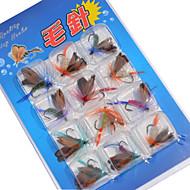 12 kpl Perhot Uistinpakkaukset Uistin Perhot Viehepakkaukset Värivailkoima g/Unssi mm tuuma,Metalli Viehekalastus