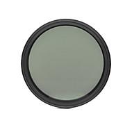 fotga® 72mm 슬림 페이더 ND 필터 조절 변수 중립 밀도 ND2 nd400하기