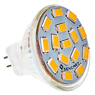 5W G4 LED-spotlampen MR11 15 leds SMD 5730 450-500lm Warm wit Koel wit 2800-3000 AC 24