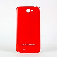 Для Samsung Galaxy Note Other Кейс для Задняя крышка Кейс для Один цвет PC Samsung Note 2