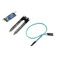お買い得  Arduino 用アクセサリー-(Arduinoのための)スマート車のための土壌湿度計検出モジュール土壌水分センサー