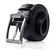 abordables Cinturones para Hombre-Hombre Piel / Legierung Cinturón de Cintura - Fiesta / Trabajo Un Color
