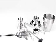 Sæt med 5 Stainless Steel Cocktails Shaker