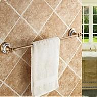 abordables Gadgets de Baño-Barra para Toalla Alta calidad Clásico Latón Cerámica 1 pieza - Baño del hotel Barra de 1 toalla