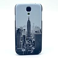 Для Кейс для  Samsung Galaxy С узором Кейс для Задняя крышка Кейс для Панорама города PC Samsung S4