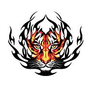 お買い得  PAG CREATIVE®-火災虎柄装飾車のステッカー