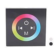 abordables Controladores RGB-TM08 LED RGB Controlador de panel táctil de un solo color LED Strip (DC12-24V entrada, Max 4A * 3channel Salida)