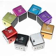 お買い得  スピーカー-屋外 屋内 パータブル ワイヤレス 3.5mm AUX USB アウトドアスピーカー パープル レッド グリーン ブルー ピンク
