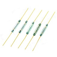 Reed Switch Magnetically Controlled Switch - Golden (5 PCS)