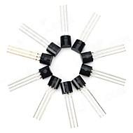 30V NPN triodo del transistor de energía del paquete de transistor - Negro (10 PCS)