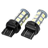 T20 (7440,7443) Carro Branco Frio SMD 5050 6500-7000 Luz de Sinal de Direcção Luz de Travão Luz de marcha atrás Alto Rendimento