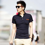 T-shirt manga curta Verão Masculina
