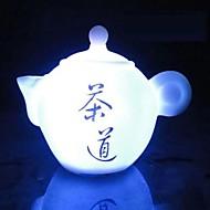 Coway tekanne av syv farger ledet night kinesisk te kunst
