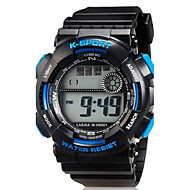 cheap Digital Watches-Sport Watch Wrist Watch Quartz Black Digital Casual - Black Blue Two Years Battery Life / Maxell626+2025