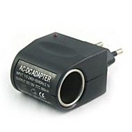 abordables -Cargador de coche 100v-240v ac a 12v dc power lighter (eu plug)