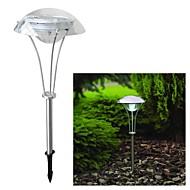 tanie Lampychodnikowe-3-biały doprowadziły energia słoneczna droga na zewnątrz noc pejzaż światło ogród