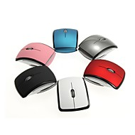 2.4G Wireless Foldable Mini office Mouse portable(Assorted Color)