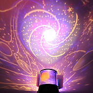 DIY Romantic Galaxy Starry Sky Projector Night Light for Celebrate Party