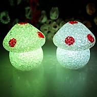 Champignons Coway cristal coloré LED Night Light