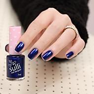 abordables -sulli una nueva generación de esmalte de uñas fragancia pura y fresca rubí azul oscuro