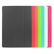 Недорогие Чехлы и кейсы для Galaxy Tab S 10.5-Для Кейс для  Samsung Galaxy со стендом / Флип / Оригами Кейс для Чехол Кейс для Один цвет Искусственная кожа Samsung Tab S 10.5