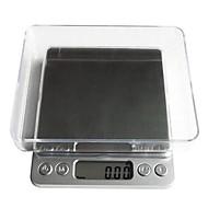 お買い得  キッチン用計量器具/はかり-デジタルLCD電子キッチン体重食品スケールbalance1000g / 0.1グラム、プラスチック12.7x10.6x1.9cm