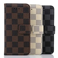 Недорогие Кейсы для iPhone 8-Кейс для Назначение Apple iPhone 8 / iPhone 8 Plus / iPhone 6 Plus со стендом Чехол Геометрический рисунок Твердый Кожа PU для iPhone 8 Pluss / iPhone 8 / iPhone 7 Plus