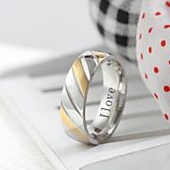 voordelige Gepersonaliseerde kledingaccessoires-gepersonaliseerde gift trendy roestvrij stalen sieraden gegraveerd heren ring
