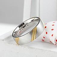 voordelige Gepersonaliseerde kledingaccessoires-gepersonaliseerde gift trendy roestvrij stalen sieraden gegraveerd heren ring 0.6cm breedte