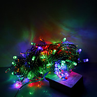 10m 100 LED-uri de Craciun Halloween lumini decorative festiv benzi lumini-ordinare lumini șir RGB (220V)