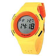 tanie Zegarki dziecięce-Damskie Na codzień Zegarek cyfrowy Kwarcowy Cyfrowe Sportowy PU Pasmo Czarny Niebieski Czerwony Szary żółty