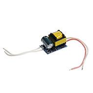 abordables Alimentaciones-zdm 0.3a 4-5w dc 12-16v a ac 85-265v controlador de fuente de alimentación de corriente constante interna para focos led