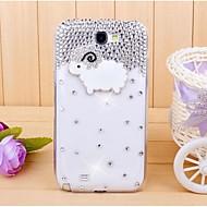алмаз немного овец задняя крышка Крышка для Samsung Galaxy Note 2 n7100