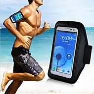 رخيصةأون -الرأسي الرياضة العالمية الركض شارة الحقيبة لسامسونج غالاكسي الهاتف (أسود)