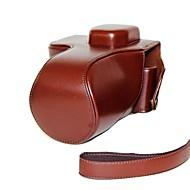 halpa -dengpin® nahka suojaava kameralaukku laukku kansi litchi kuvion olkahihna Sony Alpha a7 a7r ilce-7R