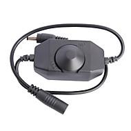 abordables Interruptores  y Enchufes-fácil llevó dimmer controlador del interruptor de la luz de tira (DC12-24V 1 canal)