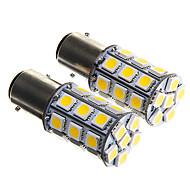 Недорогие Задние фонари-SO.K 1157 Автомобиль Лампы SMD 5050 450 lm Задний свет For Универсальный