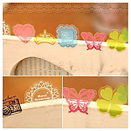 PVC Decorative Stickers(70 PCS Random Color)