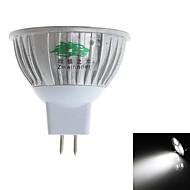 Żarówki punktowe LED MR16 3 Diody lED Dip LED 280-300lm Naturalna biel 6000-6500K Dekoracyjna DC 12